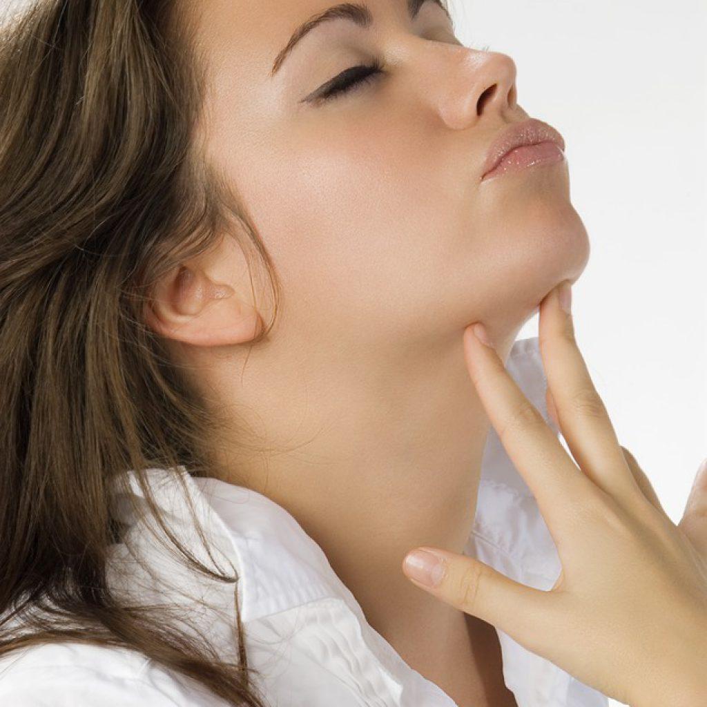 grasa parte inferior del rostro