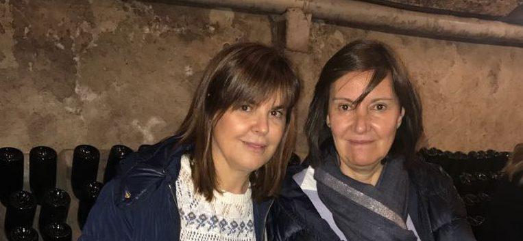 Con la Dra Campoy Filorga - 2018
